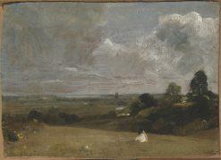 Dedham from Langham   John Constable   Oil Painting