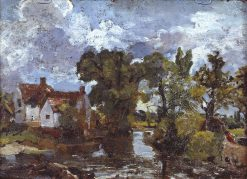 The Mill Stream | John Constable | Oil Painting