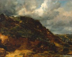 A Bank on Hampstead Heath | John Constable | Oil Painting
