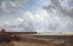 Yarmouth Jetty   John Constable   Oil Painting