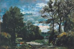 A Lane near Flatford | John Constable | Oil Painting