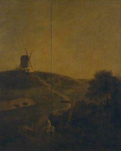 A Windmill near Norwich | John Crome | Oil Painting