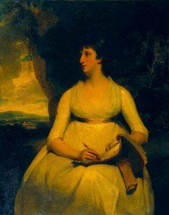 Portrait of a Lady   John Hoppner   Oil Painting