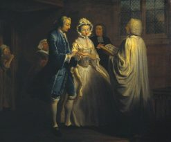 IX: Pamela is Married | Joseph Highmore | Oil Painting