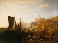 St Mawes at the Pilchard Season | Joseph Mallord William Turner | Oil Painting