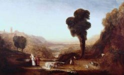 Christ and the Woman of Samaria | Joseph Mallord William Turner | Oil Painting
