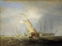 Van Tromp Returning after the Battle off the Dogger Bank | Joseph Mallord William Turner | Oil Painting