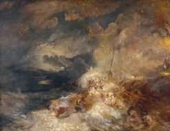 Disaster at Sea | Joseph Mallord William Turner | Oil Painting