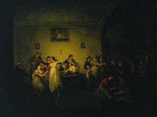 An Unmarried Sailor's Return | Julius Caesar Ibbetson | Oil Painting