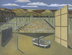 Landscape at Iden | Paul Nash | Oil Painting