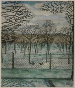 The Orchard | Paul Nash | Oil Painting