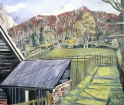 Behind the Inn | Paul Nash | Oil Painting
