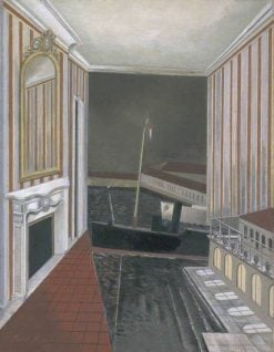 Harbour and Room | Paul Nash | Oil Painting