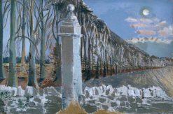 Pillar and Moon   Paul Nash   Oil Painting