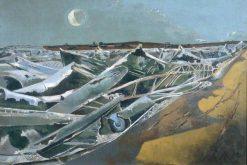 Totes Meer (Dead Sea) | Paul Nash | Oil Painting