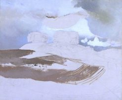Whittenham Clumps | Paul Nash | Oil Painting