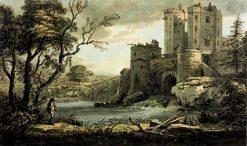 A Castle | Paul Sandby