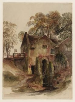 A Watermill at Dunham Massey | Peter de Wint | Oil Painting