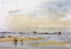 Paddlers | Philip Wilson Steer | Oil Painting