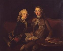 George III and the Duke of York | Richard Wilson