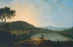 Lake Avernus and the Island of Capri | Richard Wilson