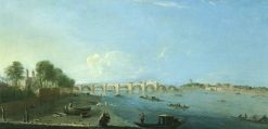 Westminster Bridge under Construction | Richard Wilson