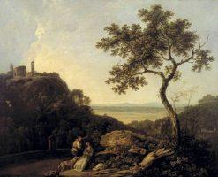 Tivoli; Temple of the Sibyl and the Campagna | Richard Wilson