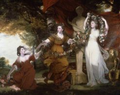 Three Ladies Adorning a Term of Hymen | Sir Joshua Reynolds | Oil Painting