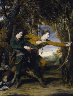 Colonel Acland and Lord Sydney | Sir Joshua Reynolds | Oil Painting