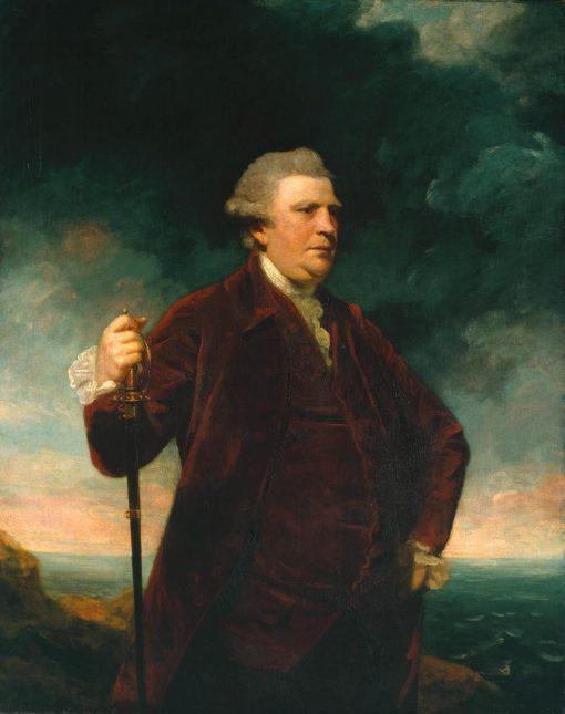 Admiral Viscount Keppel | Sir Joshua Reynolds | Oil Painting