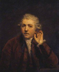 Self-Portrait as a Deaf Man | Sir Joshua Reynolds | Oil Painting