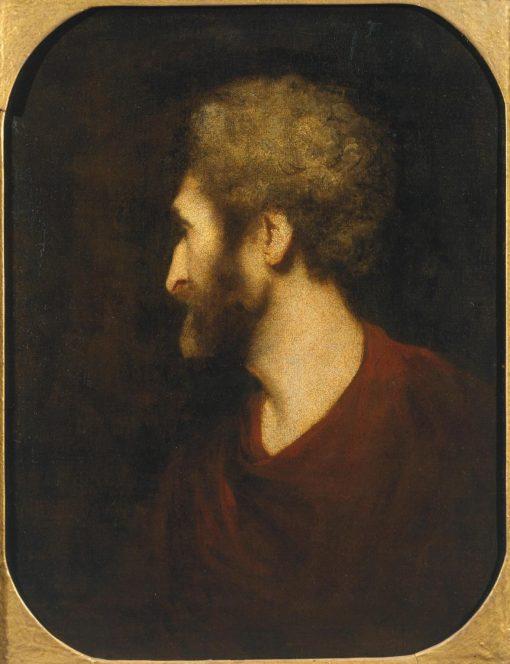 A Man's Head | Sir Joshua Reynolds | Oil Painting