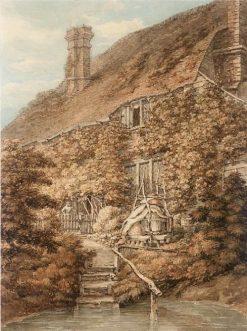 A Vine-clad Cottage | Thomas Hearne | Oil Painting
