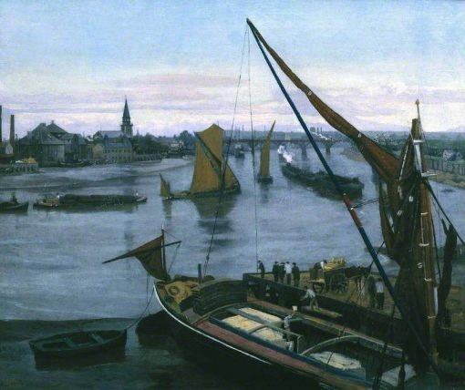 Battersea Reach | Walter Greaves | Oil Painting
