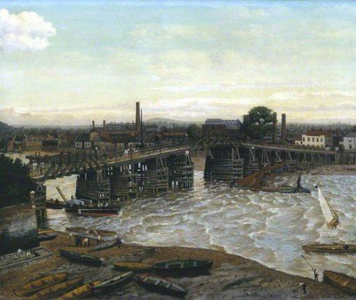 Old Battersea Bridge | Walter Greaves | Oil Painting