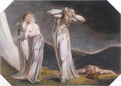 Lamech and His Two Wives | William Blake | Oil Painting