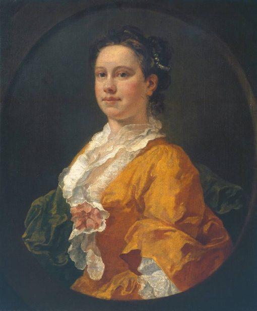 Mrs Salter   William Hogarth   Oil Painting