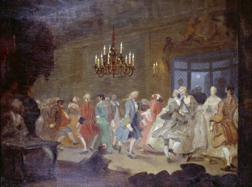 The Happy Marriage: 6. The Country Dance | William Hogarth | Oil Painting