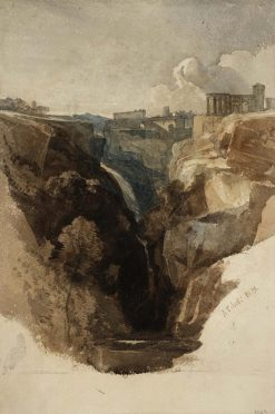 Tivoli: The Cascade | William James Muller | Oil Painting