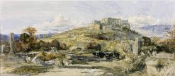 Lycia: The Citadel of Tlos | William James Muller | Oil Painting