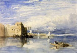 On the Nile (near Cairo?) | William James Muller | Oil Painting