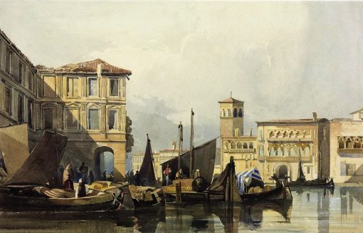 Venice | William James Muller | Oil Painting