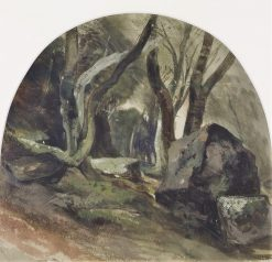 Rocky Woodland | William James Muller | Oil Painting