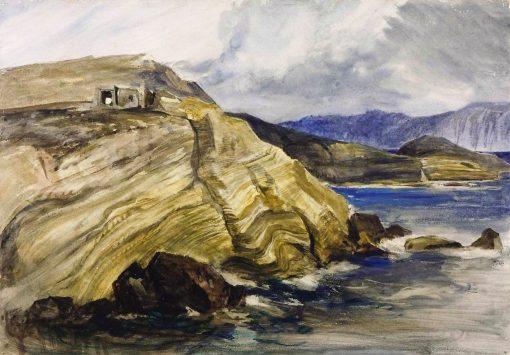 A Coast Scene | William James Muller | Oil Painting
