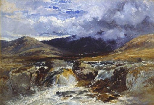 A Mountain Stream | William James Muller | Oil Painting