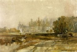 Chambord: General View of the Chateau | William James Muller | Oil Painting