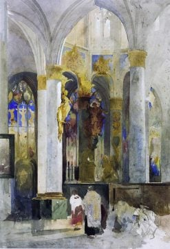 Rouen: Apse of St Vincent | William James Muller | Oil Painting