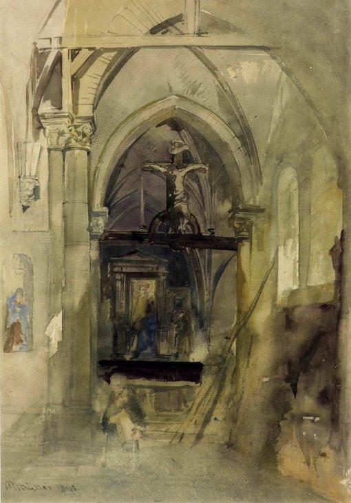 A Church Interior (St Denis - Hors