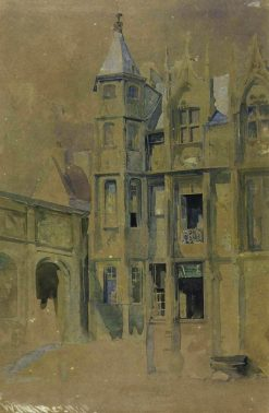 Rouen: Hôtel du Bourgtheroulde | William James Muller | Oil Painting