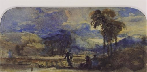 Study for 'Arab Shepherds' | William James Muller | Oil Painting